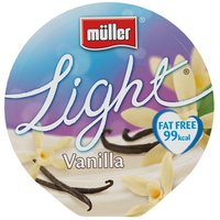 Muller Light Smooth Vanilla Yoghurt