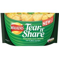 Walkers Tear & Share Salt & Malt Crisps