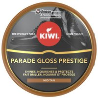 Kiwi Mid Tan Parade Gloss Shoe Polish