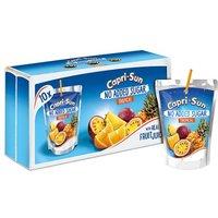 Capri Sun Tropical No Added Sugar 10 Pack