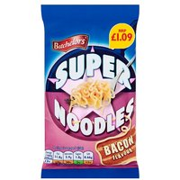 Batchelors Bacon Super Noodles Price Marked