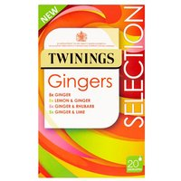Twinings Ginger Selection 20 Pack