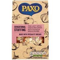 Paxo Sage Apple & Roasted Onion Foccacia Stuffing
