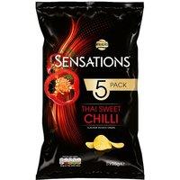 Walkers Sensations Thai Chilli 5 Pack