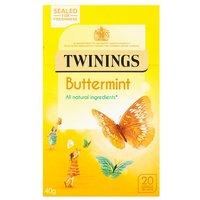 Twinings Intensley Buttermint 20 Tea Bags