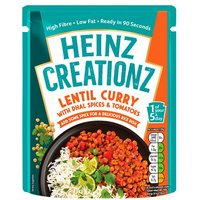 Heinz Creationz Lentil Curry Pouch