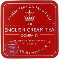 English Cream Tea Company Red Gift Tin