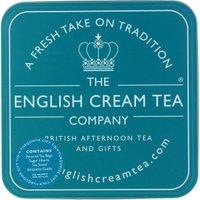 English Cream Tea Company Turquoise Gift Tin