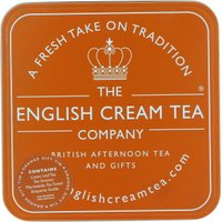 English Cream Tea Company Orange Gift Tin
