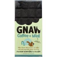 Gnaw Coffee & Mint Dark Chocolate Bar