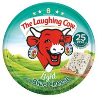 Laughing Cow Light Blue Cheese Triangles 8 Pack