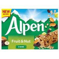 Alpen Fruit & Nut Cereal Bars 5 Pack