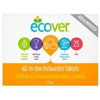 Ecover Citrus Dishwasher Tablets 25 Pack