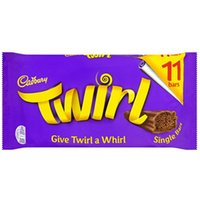 Twirl 11 Pack Single Bars