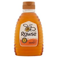 Rowse Pure and Natural Clear Honey Squeezy