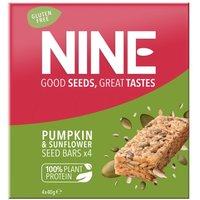 Nine Super Seed Pumpkin & Sunflower Bars 4 x 40g