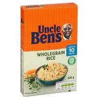 Uncle Bens Wholegrain Rice Box