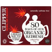 Clipper Organic Redbush Infusion Tea Bags 80 Pack