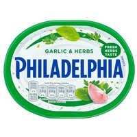 Philadelphia Light Cheese Spread With Garlic & Herb