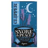 Clipper Snore & Peace Organic Tea Bags 20s