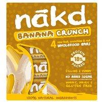 Nakd Banana Crunch 4 Pack