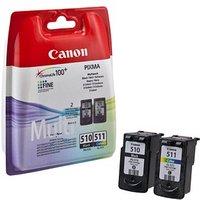 Original Canon PG510/CL511 Ink Cartridge Multipack (2970B010)