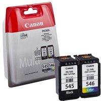 Canon PG-545/CL-546 Ink Cartridge - Black, Colour (8287B005)