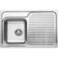 BLANCO CLASSIC 40 S Stainless Steel Kitchen Sink Left Hand Bowl BL467014 - BL467014