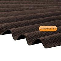 Corrapol-BT Brown Corrugated Bitumen Sheet 930 X 2000mm