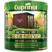 Cuprinol Ultimate Garden Wood Preserver Country Oak 4 litre