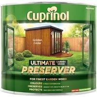 Cuprinol Ultimate Garden Wood Preserver Golden Cedar 1 litre