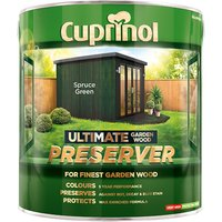 Cuprinol Ultimate Garden Wood Preserver Spruce Green 4 litre