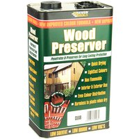 Everbuild Wood Preserver Clear 5 litre