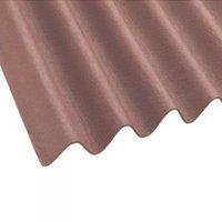 Onduline Corrugated Brown Bitumen Roof Sheet - 2m x 950mm
