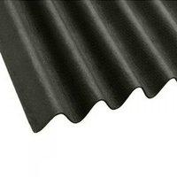 Onduline Corrugated Black Bitumen Roof Sheet - 2m x 950mm