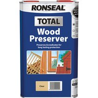 Ronseal Total Wood Preserver Clear 5 litre