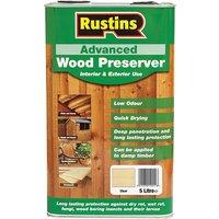 Rustins Advanced Wood Preserver Clear 5 litre