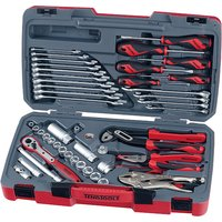 Teng T3848 Socket and Tool Set of 48 Metric and AF 3/8in Drive