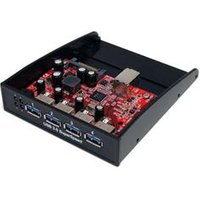 StarTech.com USB 3.0 Front Panel 4 Port Hub – 3.5in or 5.25in Bay