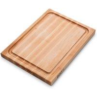 Boos Blocks Pro Chef-Groove Schneidebrett 51x38x4 cm aus Ahornholz mit Saftrille