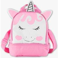 De tas is inclusief de volle power van een eenhoorn   geappliceerde oren en hoorn   kleur: roze   maat: 1 ...