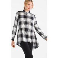 Deze geruite blouse met high low zoom kan uitstekend gecombineerd worden tot casual looks   2 ...
