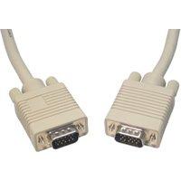 VGA to VGA Cable 15m Triple Shielded Beige sale image