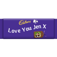 Photo Personalised Cadbury Dairy Milk Giant Bar 850g