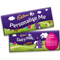 Personalised Easter Cadbury Dairy Milk Giant Bar 850g