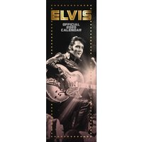 Elvis Presley Official Slim Calendar 2020 - Elvis Gifts