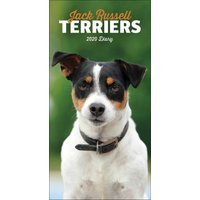 Jack Russell Terriers Slim Diary 2020 - Dogs Gifts