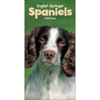 English Springer Spaniels Slim Diary 2020 - Dogs Gifts