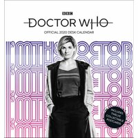 Doctor Who Official Postcard Easel Calendar 2020 - Doctor Who Gifts