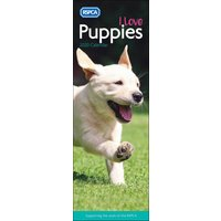 RSPCA, I Love Puppies Slim Calendar 2020 - Dogs Gifts